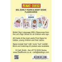 Let's Sign Early Years Flash Cards