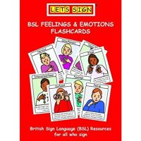 Let's Sign Feelings & Emotions Flash Cards